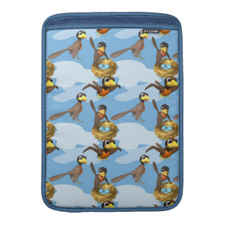 Busy Birds MacBook Air Sleeve