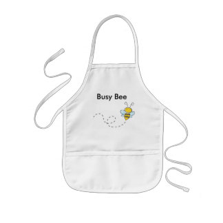 Busy Bumble Bee Kids' Apron
