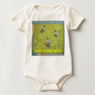 Busy Bumble Bee's Infant Sleeper Bodysuits