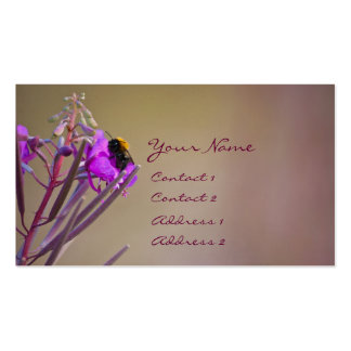 Busy BumbleBee Double-Sided Standard Business Cards (Pack Of 100)