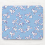Busy Bunnies Mouse Pad