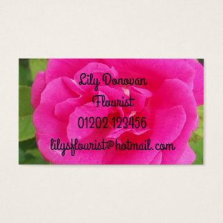 Busy Business Cards! Business Card