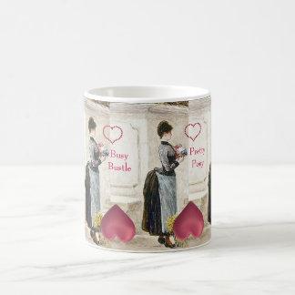 Busy Bustle Florist s Big Furbelow Fashion Bouquet Coffee Mug