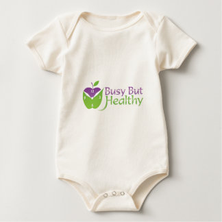 Busy But Healthy Baby Bodysuit