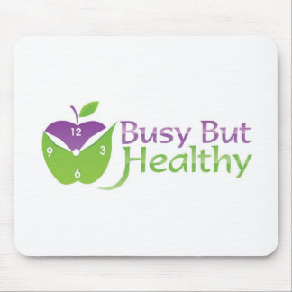 Busy But Healthy Mouse Pad