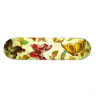 Busy Butterflies Skateboard