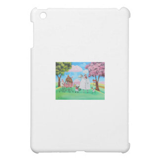 Busy Chefs cow sheep frog cat folk painting iPad Mini Covers