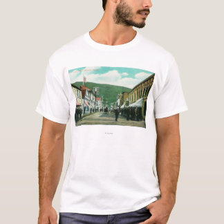 Busy Day on Third Street View T-Shirt