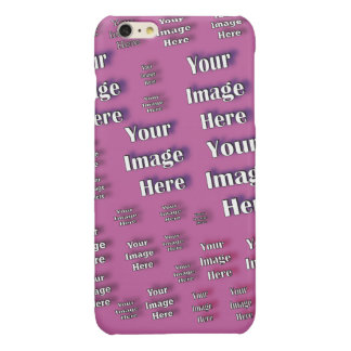 Busy Designer Image Template Glossy iPhone 6 Plus Case