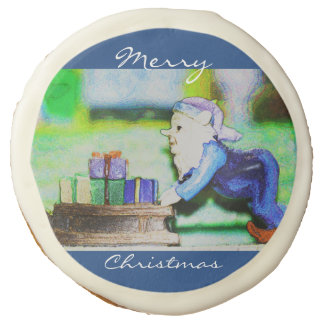 Busy Elf by Shirley Taylor Sugar Cookie