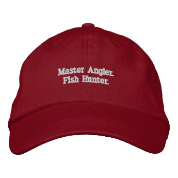 Professional Business Busy Fishing Embroidered Baseball Cap