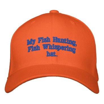 Professional Business Busy Fishing Embroidered Baseball Hat