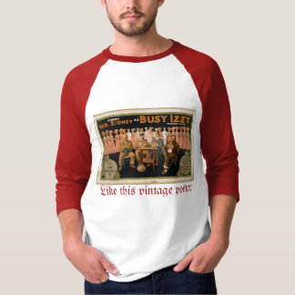 Busy izzy Like this vintage poster men T-Shirt