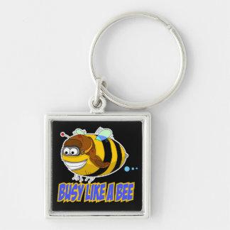 Busy Like A Bee Keychain