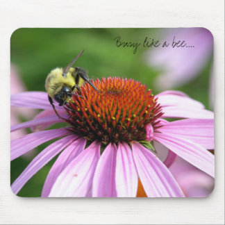 Busy like a bee.... mouse pad