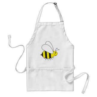 Busy Little Bumble Bee Adult Apron