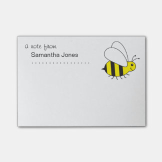 Busy Little Bumble Bee Post-it® Notes