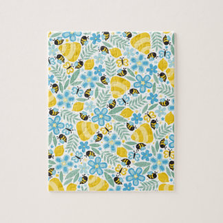 Busy Little Honeybees Jigsaw Puzzle