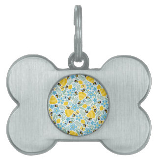 Busy Little Honeybees Pet Name Tag