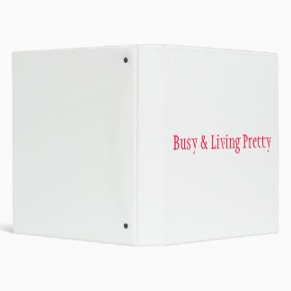 Busy & Living Pretty Binder Style1