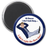 Busy Man Refrigerator Magnets