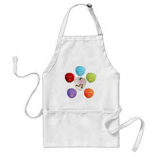 Busy Mom Adult Apron