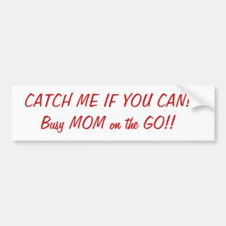 Busy Mom Bumper Stick Bumper Sticker