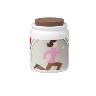 Busy Mom Candy Jar