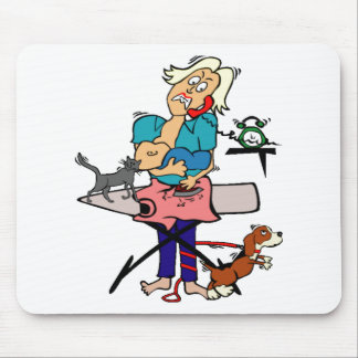 Busy Mom Mouse Pad