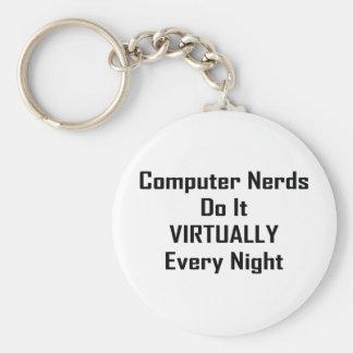 Busy Nerds Keychains