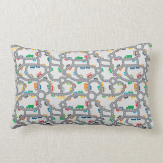Busy Roads Lumbar Pillow