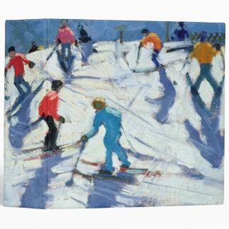 Busy Ski Slope Lofer 2004 Vinyl Binders