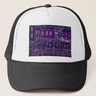 BUSY STREET LIFE TRUCKER HAT