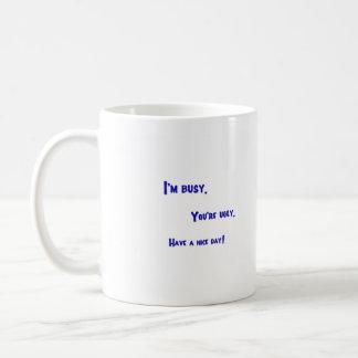 Busy Ugly Mug