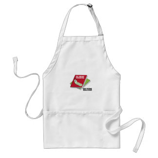 Busy Worms Read Books Adult Apron