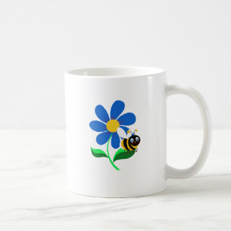 BUSY YELLOW BEE COFFEE MUG