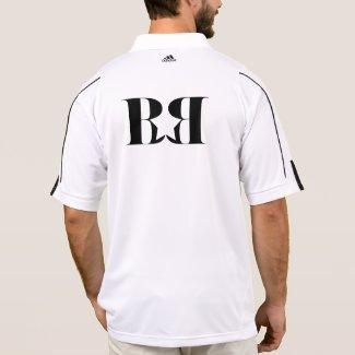 BusyBoy Crew Gear Golf - White BB STAR GEAR Polo Shirt