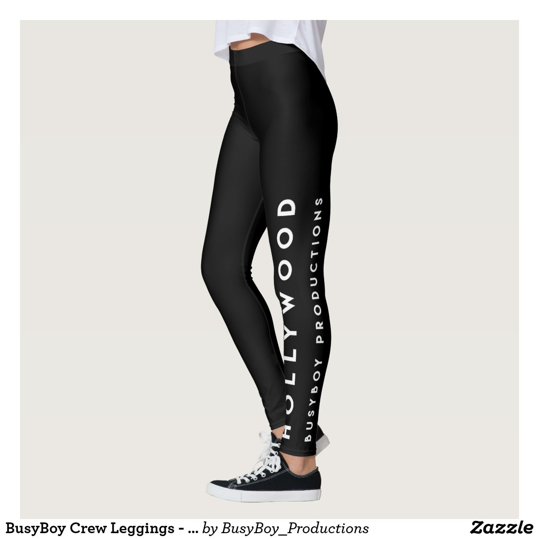 BusyBoy Crew Leggings - Hollywood Black