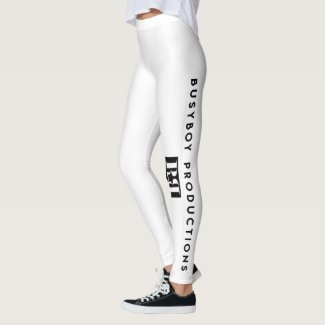 BusyBoy Productions - Leggings White