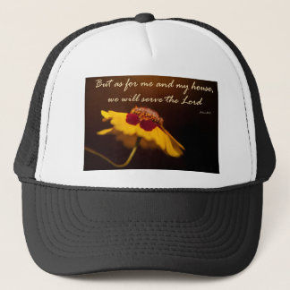 But as for me and my house, we will serve the Lord Trucker Hat