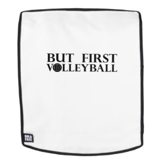 But First Volleyball - Volleyball Funny Backpack