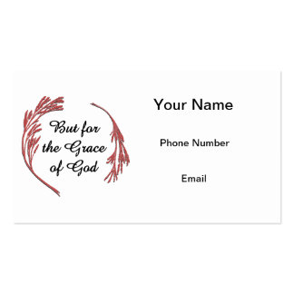 But for the Grace of God Business Cards