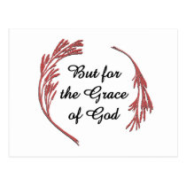 But for the Grace of God Postcard