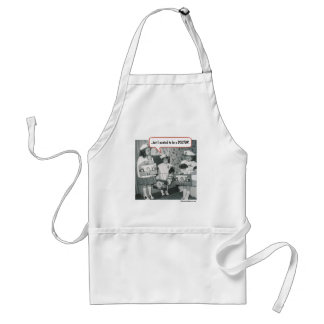 But I wanted to be a Doctor Adult Apron