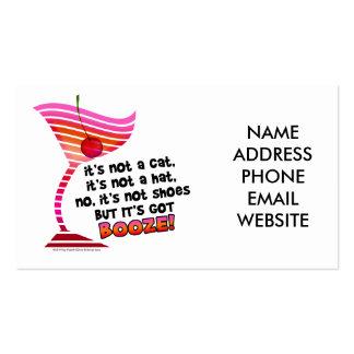 ... but it's got BOOZE! Business Card