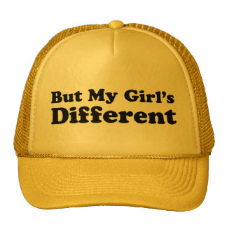But My Girl's Different Trucker Hat