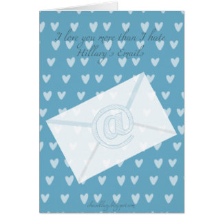 But the EMAILS Valentine Card