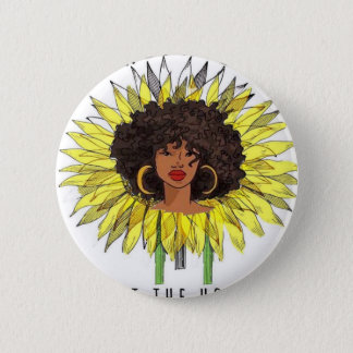 But The Hood Loves Me Pinback Button