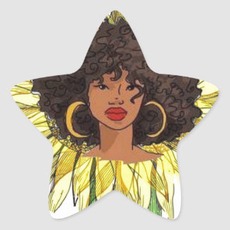 But The Hood Loves Me Star Sticker