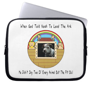 But The Pit Bull Laptop Sleeves